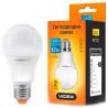 Videx, 1 шт., 12 Вт, E27, Лампочка Світлодіодна, 3000K (тепле біле світло), A60e, 220 V, VL-A60e-12273