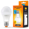 Videx, 1 шт., 10 Вт, E27, Лампочка Світлодіодна, 3000K (тепле біле світло), A60e, 220 V, VL-A60e-10273
