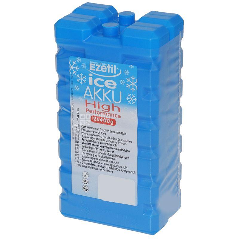 Ice Akku, 2 шт. по 400 г, Аккумулятор холода
