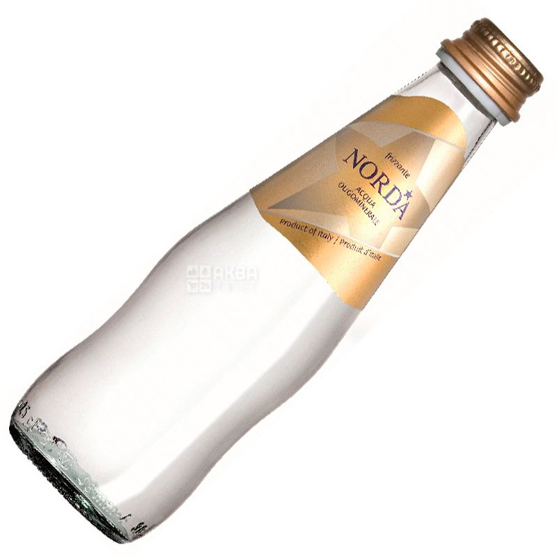Norda, 0,25 л, Норда, Вода минеральная газированная, стекло