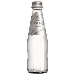 Norda, 0.25 л, Мінеральна вода, Негазована, Скло