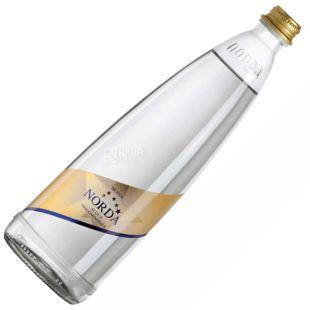 Norda, Вода минеральная газированная, 0,75 л, Стекло