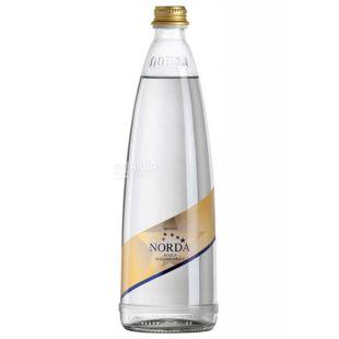 Norda, 0.75 л, Мінеральна вода, Газована, Скло