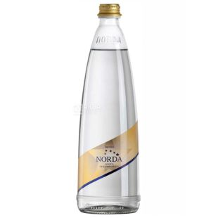 Norda, 0.75 л, Минеральная вода, Газированная, Стекло