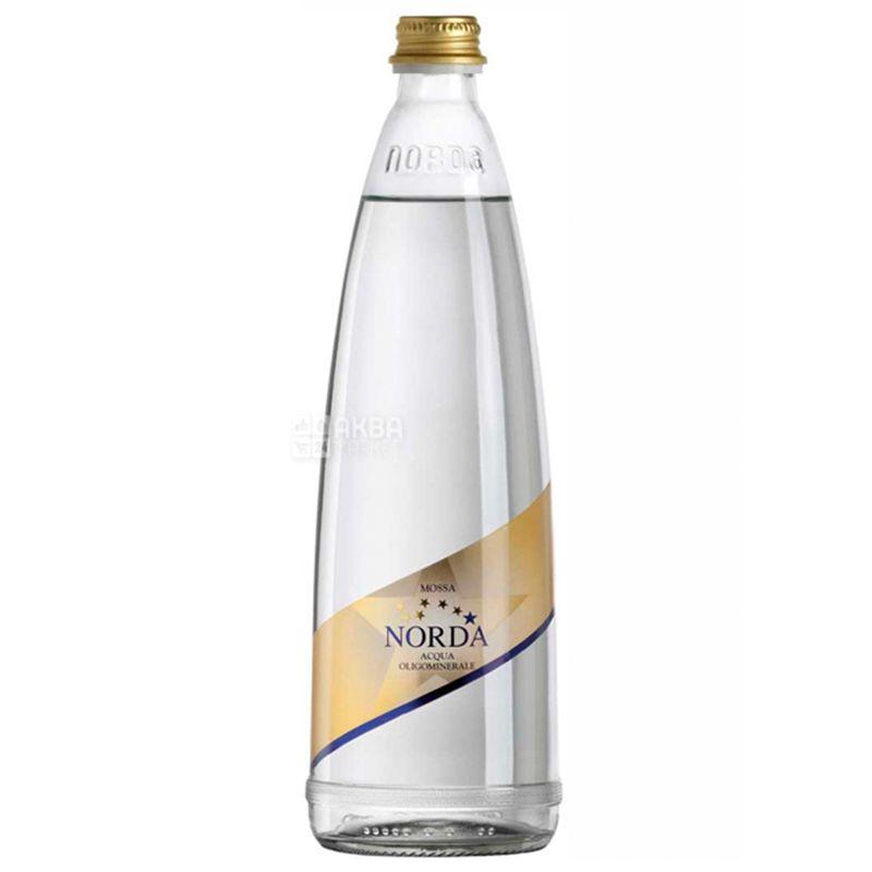 Norda, 0,75 л, Норда, Вода минеральная газированная, стекло