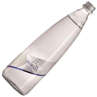 Norda, 0.75 л, Минеральная вода, Негазированная, Стекло
