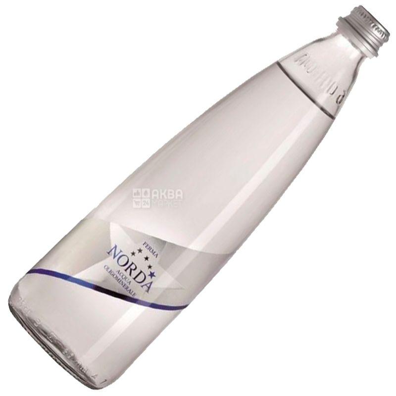 Norda, 0,75 л, Норда,  Вода минеральная негазированная, стекло