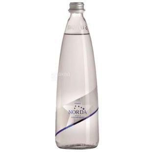 Norda, 0.75 л, Мінеральна вода, Негазована, Скло