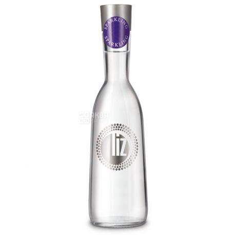 LIZ, 0,35 л, Лиз, Вода минеральная газированная, стекло
