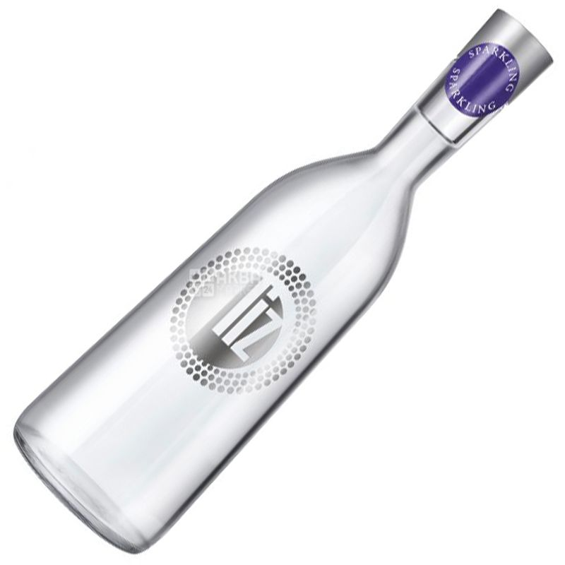 LIZ, 0,75 l, Mineral water, Carbonated, Glass, glass