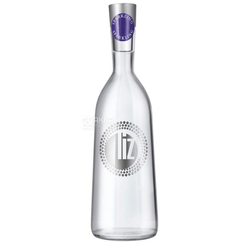 LIZ, 0,75 л, Ліз, Вода мінеральна газована, скло