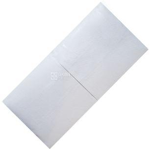 FESKO, 500 шт., 33×33 см, Серветки, Одношарові, Білі, м/у