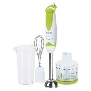 Mirta, 500 Вт, Блендер, Погружной, BHM 350 GC, Зеленый с белым
