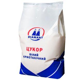 Diamant, Упаковка 10 шт. по 1 кг, Цукор білий, Кристалічний