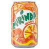 Mirinda, Orange, Упаковка 24 шт. по 0,33 л, Миринда, Апельсин, Вода сладкая, ж/б