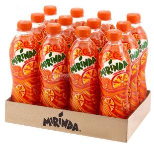 Mirinda, Упаковка 12 шт. по 0,5 л, Апельсин, ПЭТ