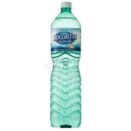 Rocchetta Naturale, 1,5 л, Рочетта Натурале, Вода негазированная, ПЭТ