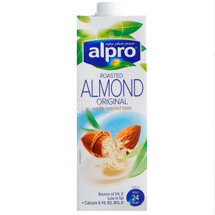 Alpro Almond, Packing 8 pcs. on 1 l, Drink almond (almond milk)