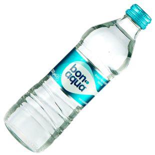 BonAqua, Вода минеральная негазированная, 0,33 л, стекло