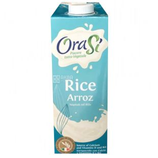 OraSi Riso, 1 л, Рисовий напій, З вітамінами та кальцієм