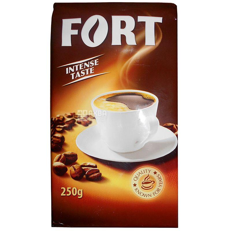 Fort, 250 г, Кава Форт, темного обсмаження, мелена