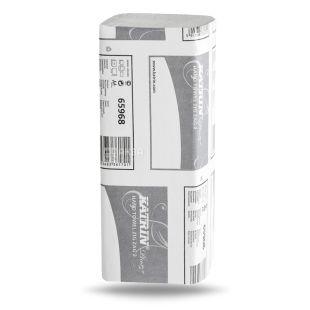Katrin, 150 шт., Рушники паперові, Classiс, Двошарові, V-складання (ZIGZAG)