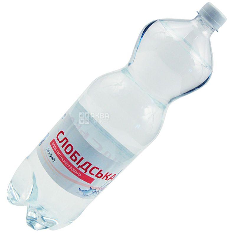 Slobodskaya, 2 l, Water, Non-carbonated, PET, PAT