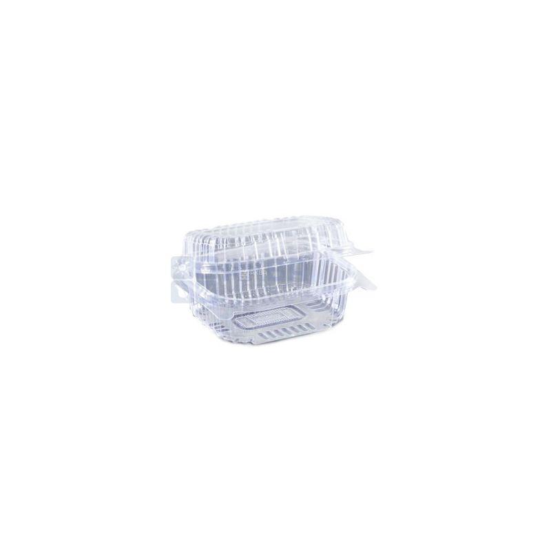 Контейнер пищевой, 130х130х68 мм, 860 мл, прозрачный, 10 шт., блистер