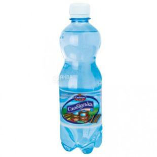 Слобідська, 0,5 л, Газовона вода, ПЕТ