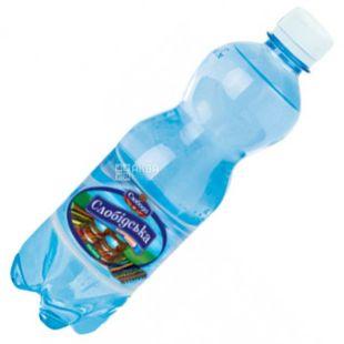 Слободская, 0,5 л, Газированная вода, ПЭТ