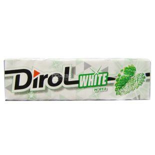 Dirol White, 14 г, Жувальна гумка, М'ята