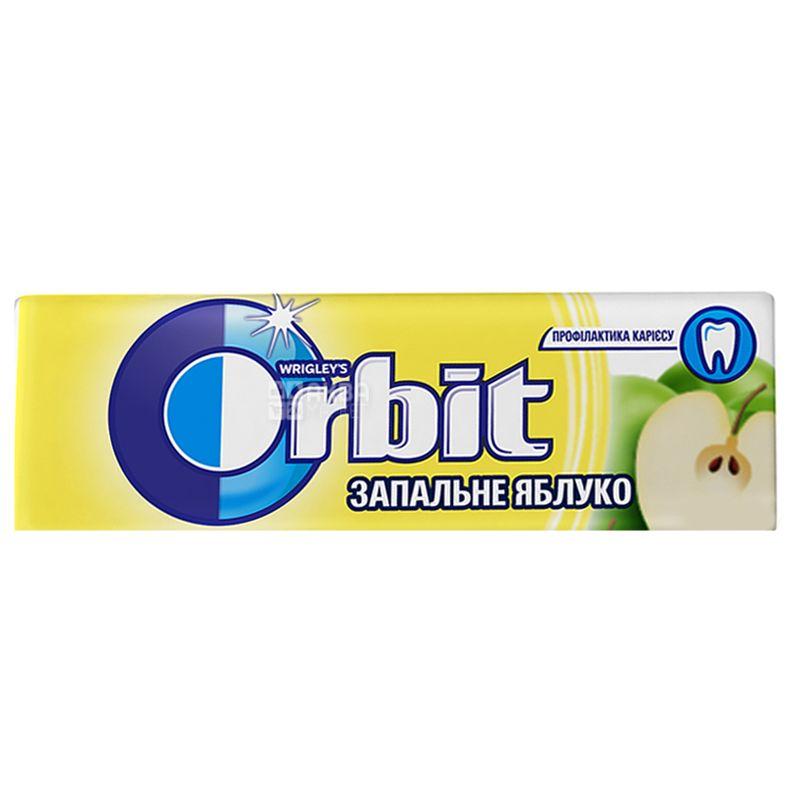 Orbit, 14 г, Жевательная резинка, Зажигательное Яблоко