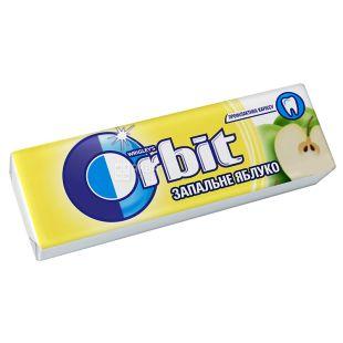 Orbit, 14 г, Жувальна гумка, Запальне Яблуко