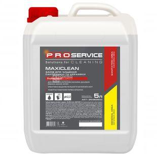 PRO service MAXICLEAN, 5 л, Миючий засіб для сантехніки та кераміки, 5 л