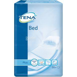 Tena, 30 шт., Одноразовые пеленки, Plus, 60*60 см