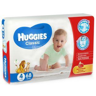 Huggies Classic Mega 4, 68 шт., Підгузки