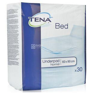 Tena, 30 шт., 60х90 см, Одноразовые пеленки, Bed Normal, м/у