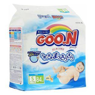 Goon, 84 pcs., 4-8 kg, Diapers, S