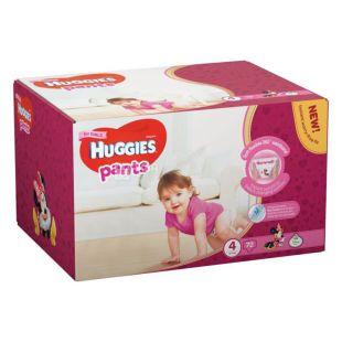 Huggies Pants Girl 4, 72 шт., 9-14 кг, Підгузники, Для дівчаток, м/у