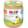 HiPP, 125 г, Фруктове пюре, Яблука із грушами, З 4-х місяців