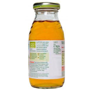 HiPP, Apple juice, 200 мл, Хипп, Сок Яблочный, с 4 месяцев, без добавления сахара, стекло