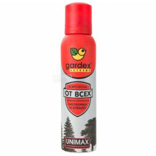 Gardex, 125 ml, Aerosol-repellent, From all insects, Extreme