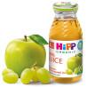 HiPP, Apple-Grape, 200 мл, Хипп, Сок Яблочно-виноградный, с 4-х месяцев, без добавления сахара, стекло