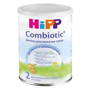 Hipp Combiotic 2, 350 г, Молочная смесь