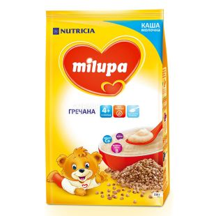Milupa, 210 г, Каша молочная, Гречневая, м/у