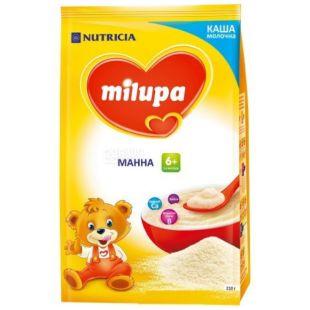 Milupa, 210 г, Каша молочная, Манная, м/у