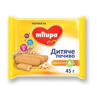 MILUPA, 45 г, Печиво дитяче, З 6 місяців