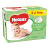 Huggies, 56х3 шт., Влажные салфетки, Natural Care