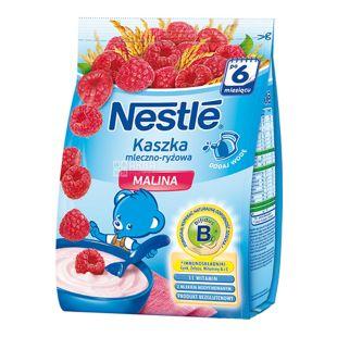 Nestle, 230 г, Рисовая каша, С малиной