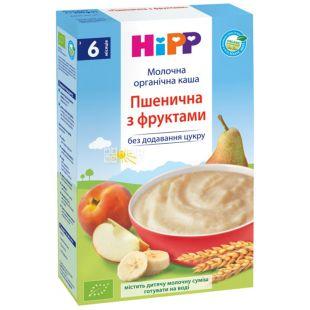 HiPP, 250 g, Organic Milk Porridge, Wheaten with Fruit